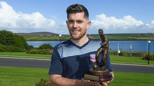 Ronan Murray with his award