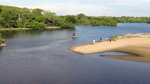 Sri Lankan emergency personnel at the scene near the coastal village of Panama