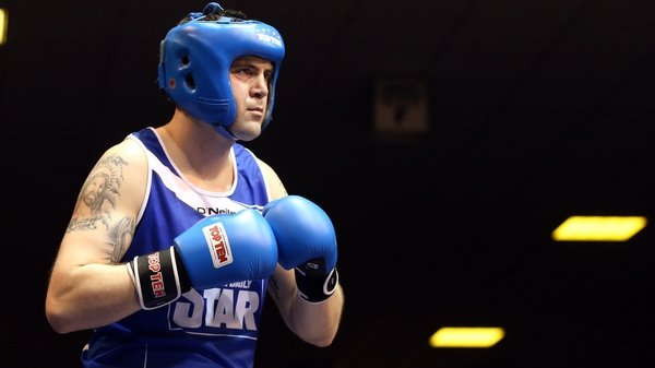 Niall Kennedy fought in the 2013 Irish National Elite super-heavyweight final