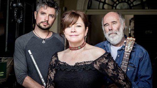 Jarlath Henderson, Cathy Jordan and Mick Daly - making a beautiful noise