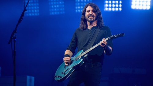 Dave Grohl: taking a break to cure his vocal cords