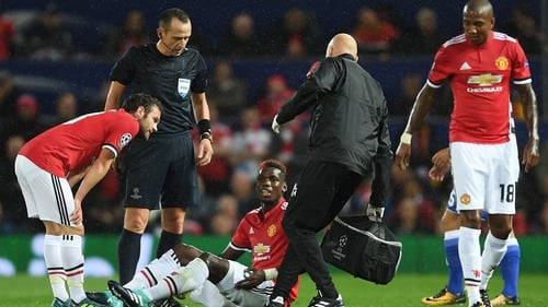 Paul Pogba is not expected to return to action anytime soon