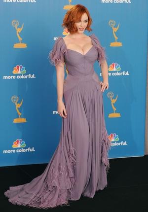 Christina Hendricks made headlines with this Zac Posen gown in 2010.