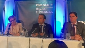 The Taoiseach was speaking at the Fine Gael Parliamentary Party meeting in Clonmel