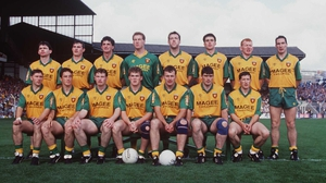The Donegal team that won the 1992 All-Ireland