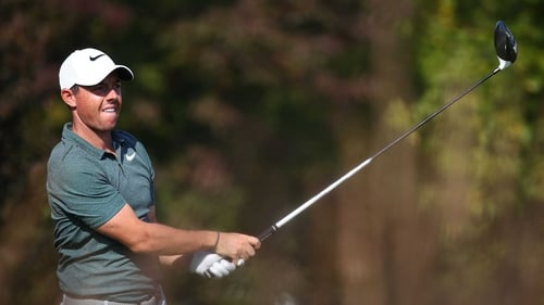 Rory McIlroy's FedEx Cup defence hit as Marc Leishman leads — BMW Championship