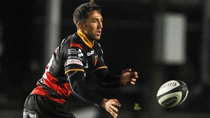 Gavin Henson in action against Connacht on Friday night