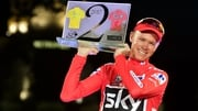 Chris Froome won the Tour de France and Vuelta a Espana this year
