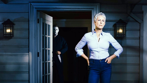 """Jamie Lee Curtis - """"Headed back to Haddonfield one last time"""" Photo: Universal Pictures"""