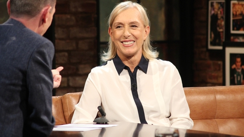 Martina Navratilova | The Late Late Show