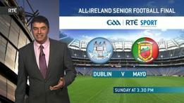 All-Ireland Football Final Weather Forecast