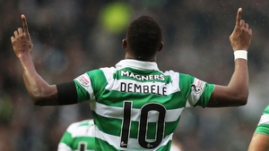 Dembele was back on the goal trail for Celtic