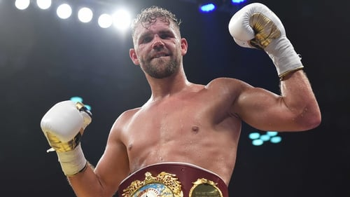 Billy Joe Saunders challenges Gennady Golovkin after defeating David Lemieux