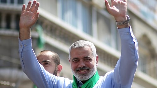 The announcement comes after talks in Cairo between Hamas chief Ismail Haniya and Egyptian officials