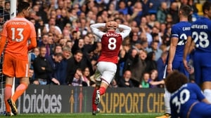 Aaron Ramsey had Arsenal's best chance but he hit the post