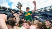 David Clifford captained the Kerry minors to their fourth All-Ireland title in a row last September