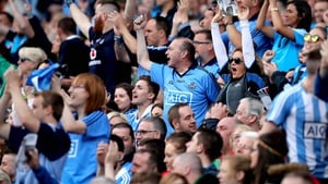 Dublin supporters celebrate another All-Ireland success
