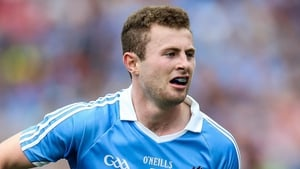 Having the craic: Jack McCaffrey was in fine form during Jim Gavin's interview