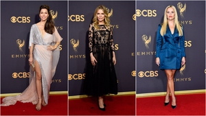 Jessica Biel, Michelle Pfeiffer and Reese Witherspoon on the Emmy's Red Carpet