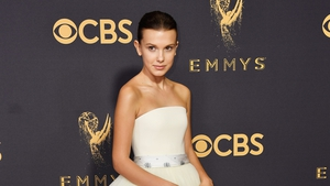 The 13-year-old Emmy nominee stunned in Calvin Klein.
