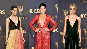 2017 Emmy Award Fashion Trends: Plunging Necklines