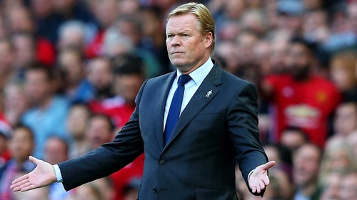 Barcelona are chasing Ronald Koeman