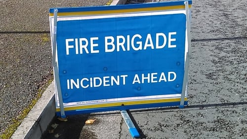 The blaze is in an old bingo hall in the Sunbeam Industrial Estate in the Blackpool area
