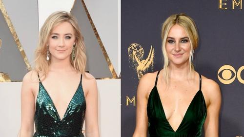 Did Saoirse Ronan inspire Shailene Woodley's Emmy look?