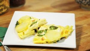 Spinach & Feta Frittata: OT