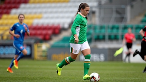 Katie McCabe will lead the Irish side out in Lurgan
