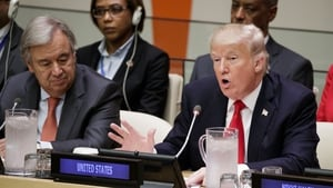 "Mr Trump said ""The United Nations must hold every level of management accountable"""