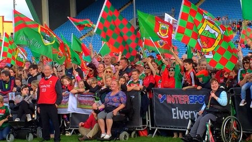 Mayo fans turned out in force