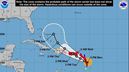 "Maria strengthens into unsafe Category 4 hurricane: US NHC"""