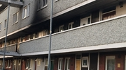 Alarm raised after fire broke out at Tyrone Place at around 11.20pm last night