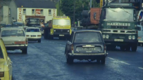 Traffic in Swords, County Dublin