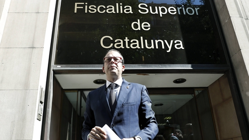 Marc Solsona, mayor of the town of Mollerussa, was among those questioned