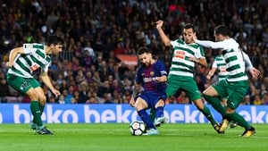 Messi was in sublime form at the Camp Nou