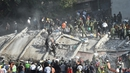 Earthquake toppled dozens of buildings in Mexico City