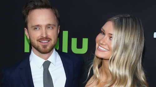 Aaron Paul and wife Lauren expecting first child
