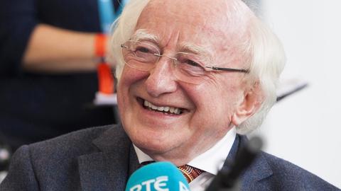 President Higgins urges mature discussion on migration | RTÉ News