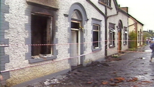 Babysitter Barbara Doyle and two young children Mary Ellen Byrne and her sister Kerrie died in the fire