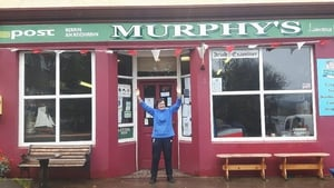 Mary Murphy sold the winning ticket in her post office on Monday