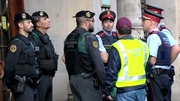 Spanish police raided a number of offices
