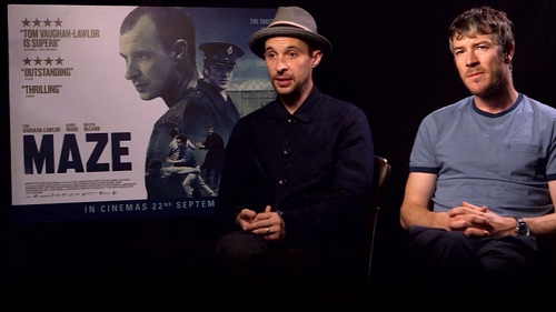 Tom Vaughan-Lawlor and Barry Ward