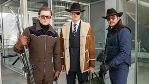 Taron Egerton, Colin Firth and Pedro Pascal