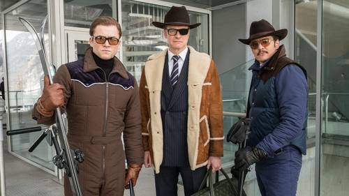 Taron Egerton, Colin Firth and Pedro Pascal