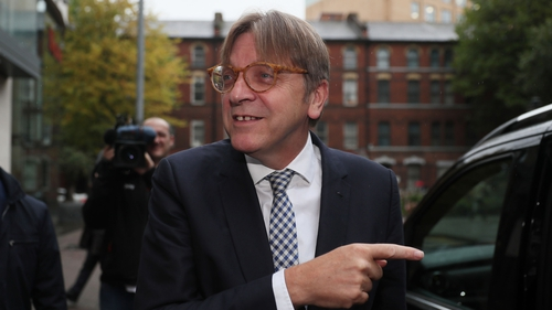 Brexit: Verhofstadt rejects United Kingdom proposals for Irish border