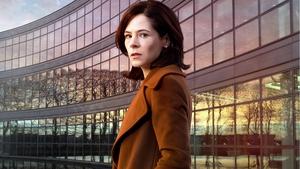 Elaine Cassidy stars as Sarah in director Kenny Glennan's pharmaceutical thriller Acceptable Risk