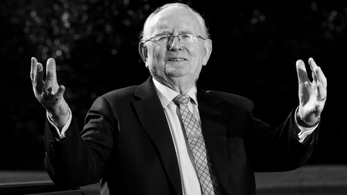 Jimmy Magee pictured in 2012