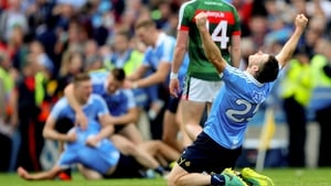 Dublin celebrate their win over Mayo